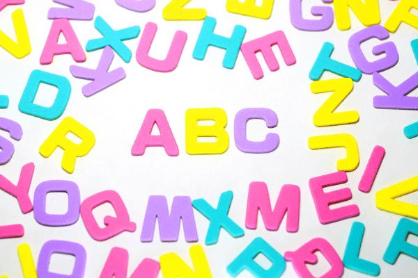 לימוד אותיות ABC לילדים