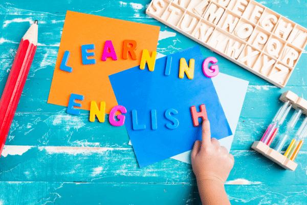 לימוד אנגלית לילדים
