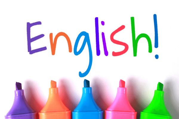אנגלית צבעוני